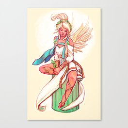Illustration - Mercy Canvas Print