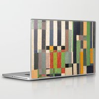 fez Laptop & iPad Skins featuring Paralelos by Fernando Vieira