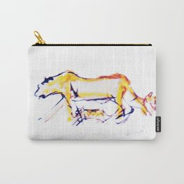 Lioness and cubs       by Kay Lipton Carry-All Pouch