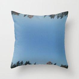SPEGELTRÄDEN / MIRROR TREES Throw Pillow