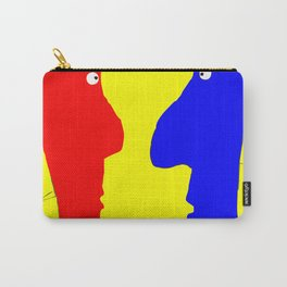 Eye to Eye, a Good Front Carry-All Pouch