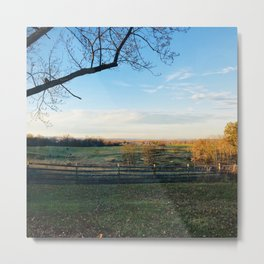 Invigorating Fall Metal Print