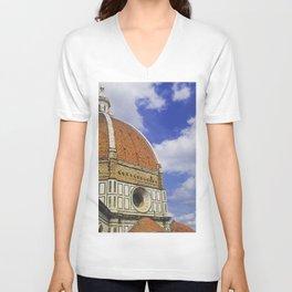 Duomo's Cupola - Florence Unisex V-Neck