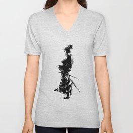 samurai Unisex V-Neck