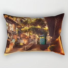 Tardis doctor who lost in cina town iPhone 4 4s 5 5c 6, pillow case, mugs and tshirt Rectangular Pillow