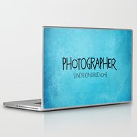 photographer Laptop & iPad Skins featuring Photographer by Indie Kindred
