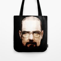 cook Tote Bags featuring The Cook by skudio