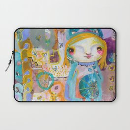Moon Face Laptop Sleeve