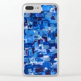 Sapphire Skin Clear iPhone Case