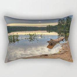 Nicks Lake Sunset Rectangular Pillow