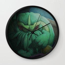 Cthulhu 1 Wall Clock