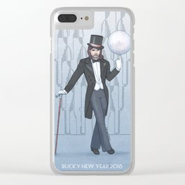 Bucky New Year 2018 Clear iPhone Case