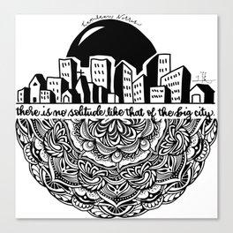 Big City Mandala Canvas Print