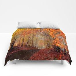 Autumn Parade Comforters