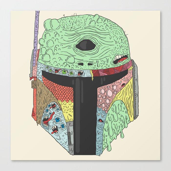 Gorba Fett Canvas Print