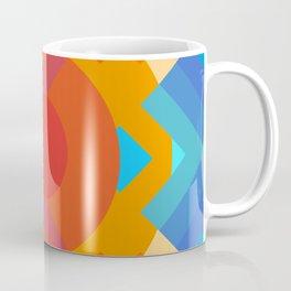 Retro Rocket 10 Coffee Mug