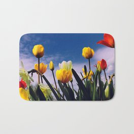 Relax With The Tulips Bath Mat