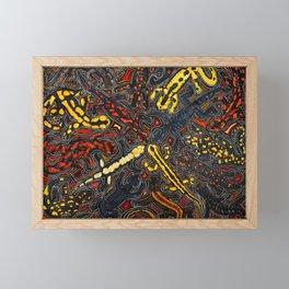 Salamanders Framed Mini Art Print