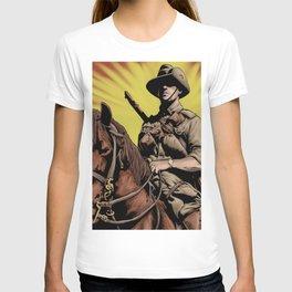 Australian Light Horse soldier T-shirt