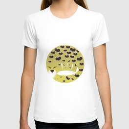 Leopard changing his spots T-shirt