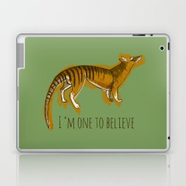 Believe in Thylacine Laptop & iPad Skin