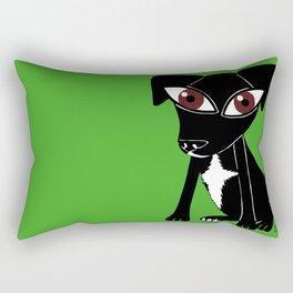 Feria, the crazy Collie Rectangular Pillow