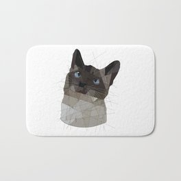 Siamese Cat Bath Mat