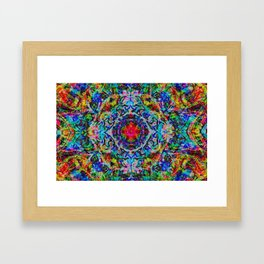 Diddling With The Multiverse Has Consequences Framed Art Print
