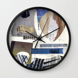 Collage Exp. 4 Wall Clock