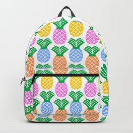 Pineapple Pattern Backpack