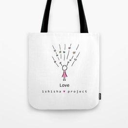 LOVE by ISHISHA PROJECT Tote Bag