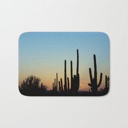 Sunset Cacti 2 Bath Mat