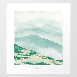 Sonoma: Coleman Valley Road Art Print