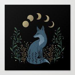 Fox on the Hill Canvas Print