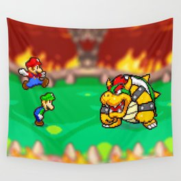 Bowser Battle! Wall Tapestry