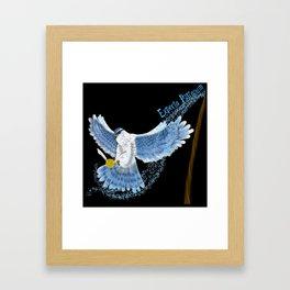 Expecto Patronum Goshawk Framed Art Print