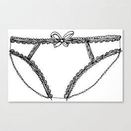Knickers Canvas Print