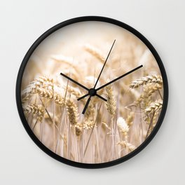 Summer Sun Corn Wall Clock
