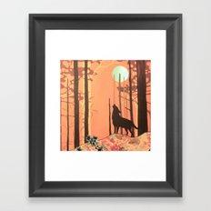 wolf_2 Framed Art Print