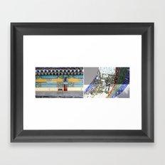 SIT/STAND Framed Art Print