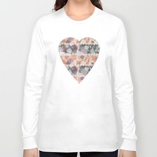 Floral Stripes Long Sleeve T-shirt