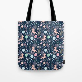 Unicorns in Hesperides Tote Bag