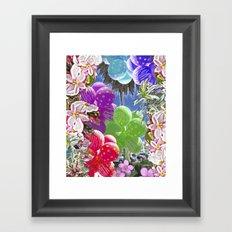 BALLOON LOVE:  Tropical Pop Framed Art Print