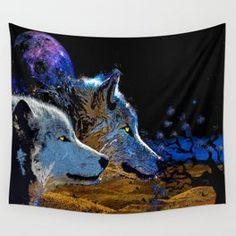 THE WOLF YOU KNOW Wall Tapestry