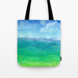 Blue Ridge Evening Tote Bag