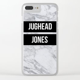 Riverdale - Jughead Jones Clear iPhone Case