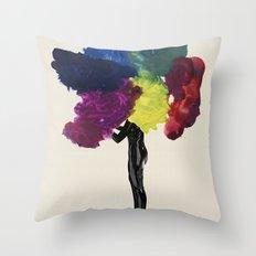 Paint Fetish Throw Pillow