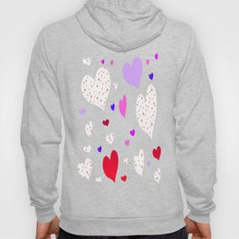 Flying Hearts Hoody