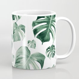 Tropical Monstera Pattern #2 #tropical #decor #art #society6 Coffee Mug