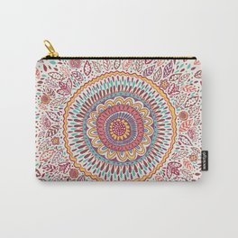 Sunflower Mandala Carry-All Pouch